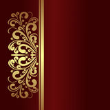 Elegant Background with golden Border Royalty Free Stock Photography