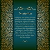 Elegant background with lace ornament Royalty Free Stock Photo