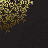 Elegant background with lace ornament Stock Photography