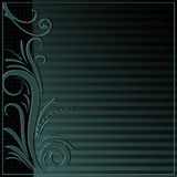 Elegant background with ornament border Stock Photography