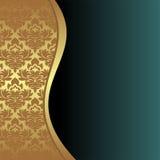 Elegant Background with ornamental Border Royalty Free Stock Photos