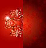 Elegant background with ornaments Stock Photography