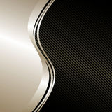 Elegant background: silver and black. Stock Images