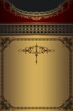 Elegant background with vintage border. royalty free stock photo