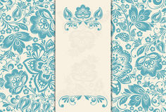 Elegant Background With Lace Ornament And Place Royalty Free Stock Photo