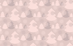 Elegant baige color christmas background. Stock Photography