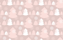 Elegant baige color christmas background. Stock Photos