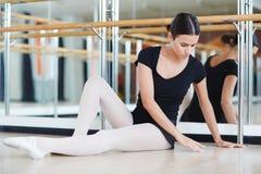 Elegant Ballet Dancer Royalty Free Stock Photography
