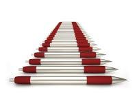 Elegant ballpoint pencils Stock Photo