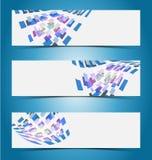 Elegant banner design template Royalty Free Stock Photography