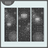 Elegant banner template set design Royalty Free Stock Photography