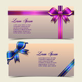 Elegant Banners Royalty Free Stock Images