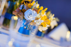 Elegant banquet table. Stock Images
