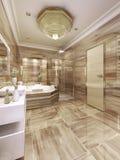 Elegant bathroom interior Stock Image