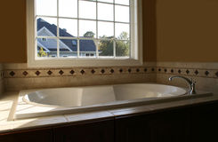 Elegant Bathtub Stock Photography