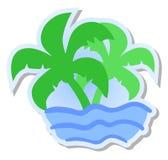 Elegant beach Royalty Free Stock Photo