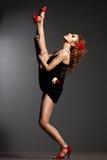 Elegant beautiful dancer Stock Photography