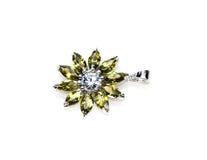 Elegant beautiful jewelry Stock Photography
