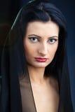 Elegant beautiful woman Stock Images