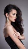 Elegant beautiful young woman Stock Photography