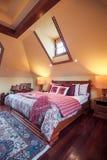 Elegant bedroom in colonial style Stock Photo