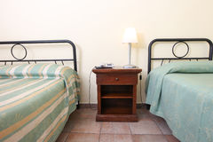 Elegant bedroom Royalty Free Stock Image