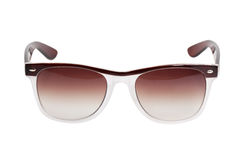 Elegant beige sunglasses Royalty Free Stock Photo