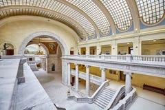 Elegant binnenland van het het Capitoolgebouw van de Staat van Utah stock fotografie
