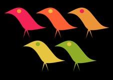 Elegant Birds Royalty Free Stock Photos