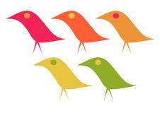Elegant Birds Stock Image