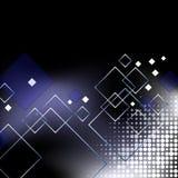 elegant blå affär för abstrakt bakgrund Fotografering för Bildbyråer