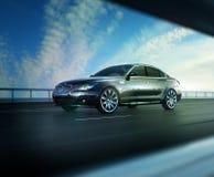 Elegant Black Car Stock Photos