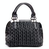 Elegant black female bag Royalty Free Stock Photo