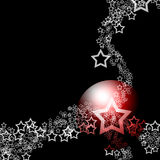Elegant Black Festive Abstract Theme Royalty Free Stock Photography