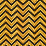 Elegant black and gold geometric seamless zigzag pattern. chevron pattern background, wrapping paper, fabric pattern, wallpaper. Elegant black and gold vector illustration