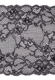Elegant black lace Stock Photography