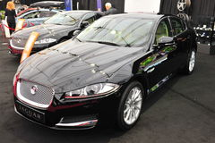 Jaguar XF limousine Stock Photography