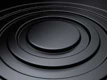 Elegant metallic background circle stock photo