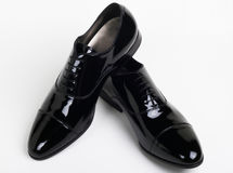 Elegant black shoes Royalty Free Stock Photo
