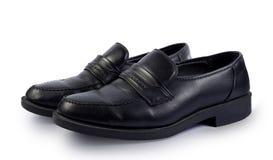 Elegant black shoes Stock Photos