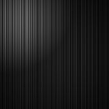 Elegant black striped background with abstract vertical lines and white corner spotlight. Striped black background with white corner light in elegant monochrome Stock Photography