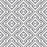 An elegant black and white. Seamless pattern for a fabric, papers, tiles Royalty Free Stock Image