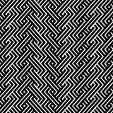 An elegant black and white, vector pattern Stock Photography
