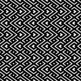 An elegant black and white, vector pattern Stock Image