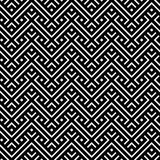 An elegant black and white, vector pattern Stock Photos