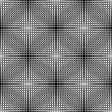 An elegant black and white vector pattern, geometric square tile Stock Photo