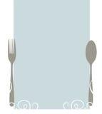 Elegant blank menu Stock Photo