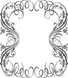 Elegant Blank Vintage Ornamental Border Royalty Free Stock Photos