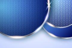 Elegant blauw vectorontwerp Royalty-vrije Stock Fotografie