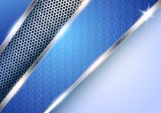 Elegant blauw vectorontwerp Royalty-vrije Stock Foto's